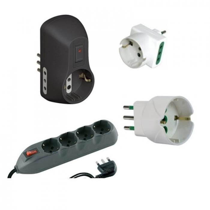 adattatori prese elettriche